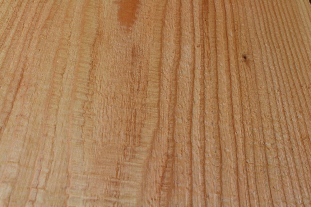 Bandsawn & Nylon Brushed and stained finish on RF Dry douglas fir timber
