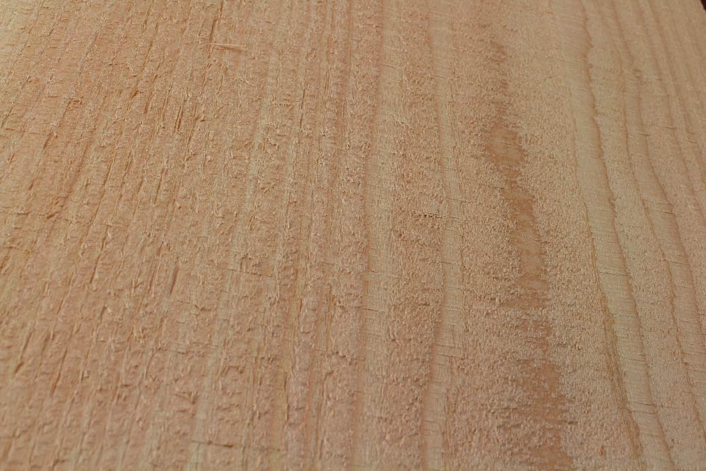 Bandsawn texture on RF Dry douglas fir timber