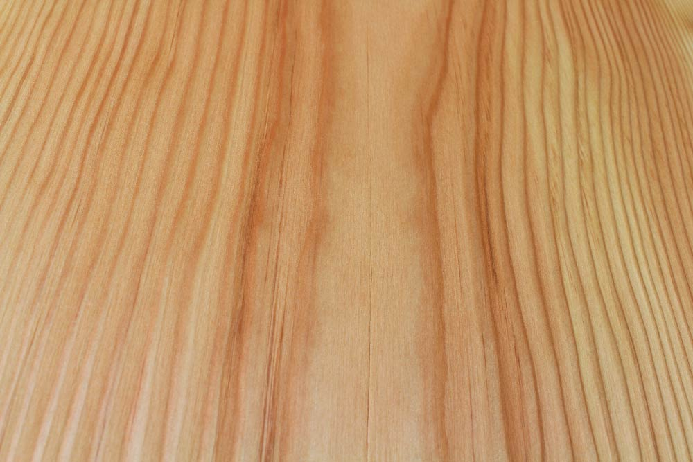 Nylon Brushed and stained finish on RF Dry douglas fir timber