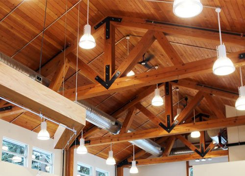 Dry Timber Project at Chemainus Library