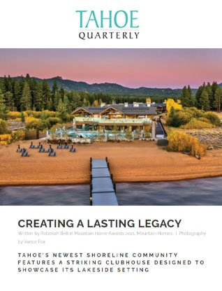 Article about Fraserwood Glulam at Tahoe Beach Club